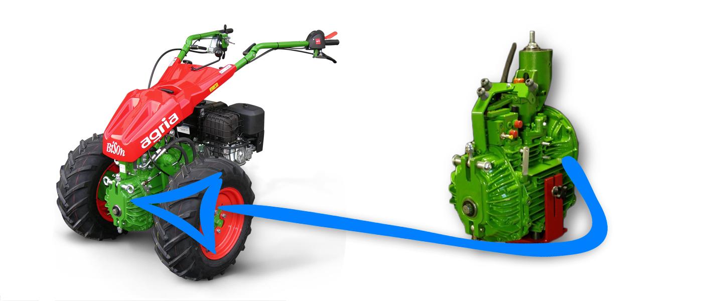Převodovky pro zahradní stroje